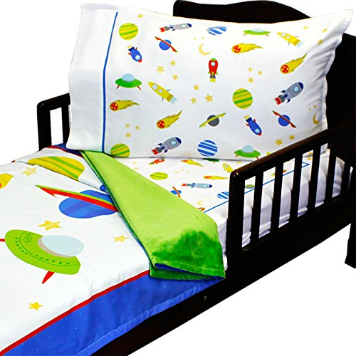 Purchase a blast off toddler bedding set pillowcase for Outer space bedding