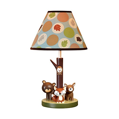 Woodland creatures lamp and shade shop kids parties woodland creatures lamp and shade aloadofball Image collections