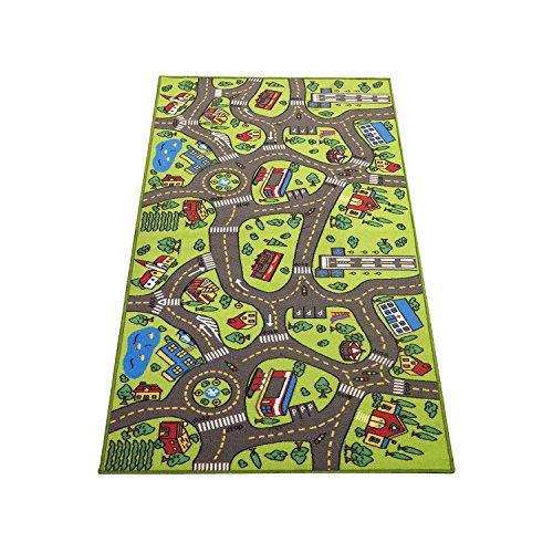 Buy An Extra Large City Life Kids Rug As A Birthday Present