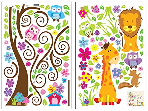 Jungle Themed Wall Decals For Toddlers Nurseries And Playrooms - Jungle theme wall decals