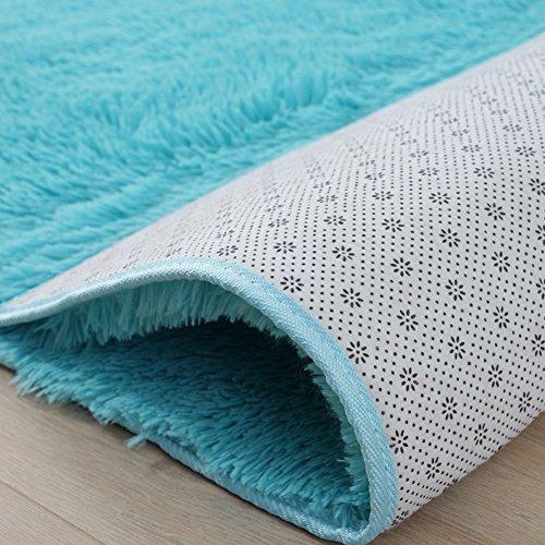 noahas super soft modern shag area rugs fluffy living room - 500×500