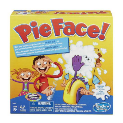 Pie Face Game gift for kids
